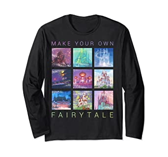 Disney Princess Castles Make Your Own Fairytale Long Sleeve T-Shirt