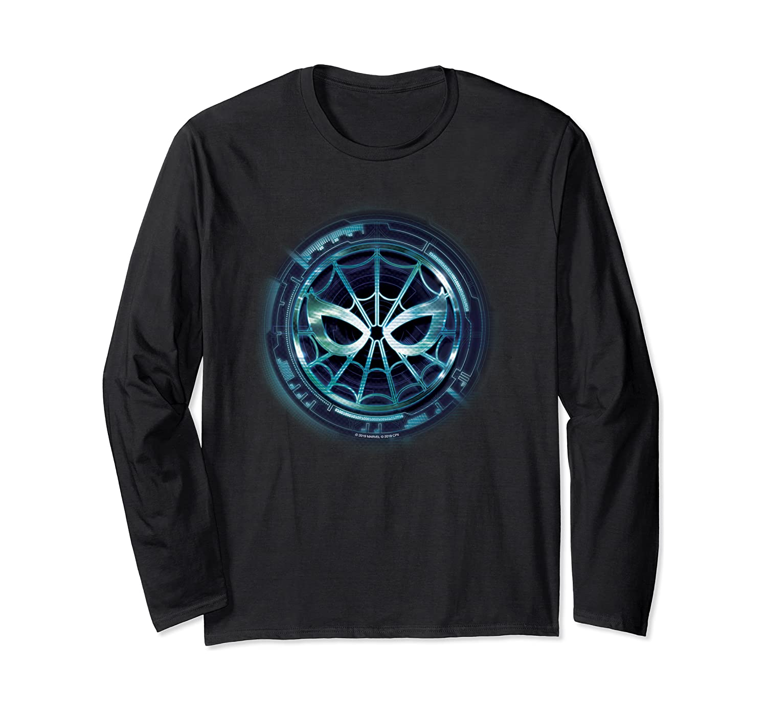 Marvel Spider-Man: Far from Home Chest Emblem Long Sleeve T-Shirt