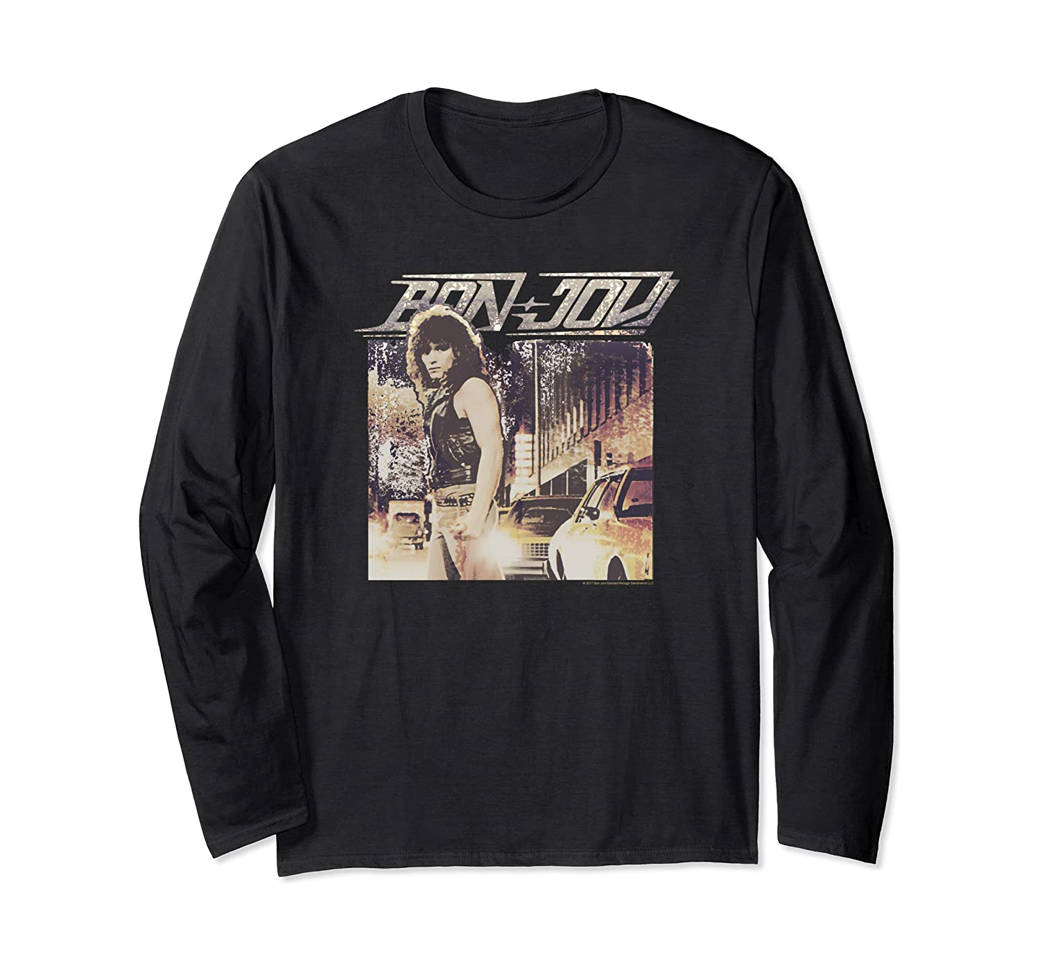 Bon Jovi Runway Long Sleeve T-Shirt