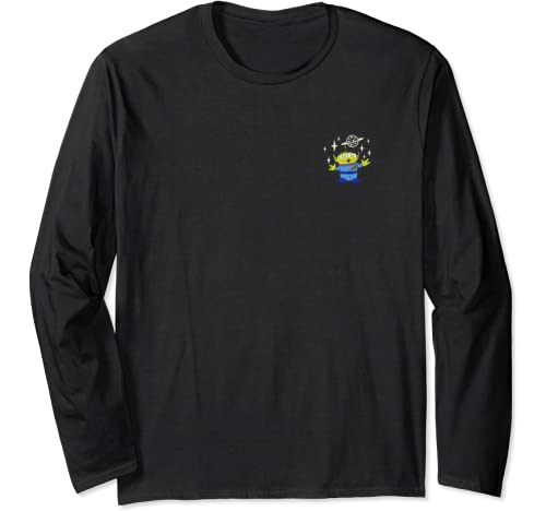 Disney Pixar Toy Story Aliens License Plate Long Sleeve T Shirt