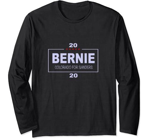 Colorado For Bernie Sanders Long Sleeve T Shirt