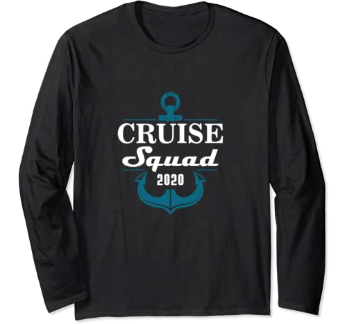 Cruise Squad 2020 Family Reunion Matching Vacation Long Sleeve T Shirt