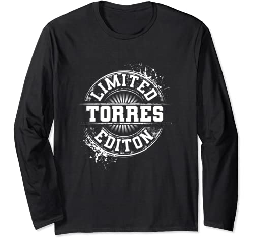 Torres Funny Surname Family Tree Birthday Reunion Gift Idea Long Sleeve T Shirt