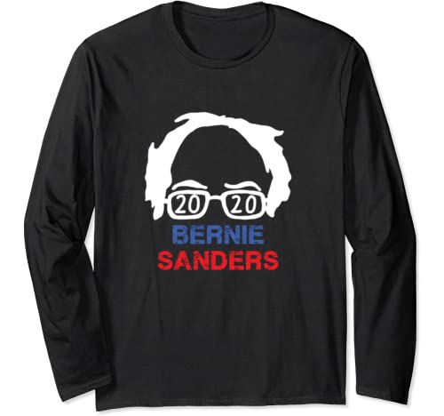 Bernie Sanders 2020 Feel The Bern President Anti Trump Long Sleeve T Shirt