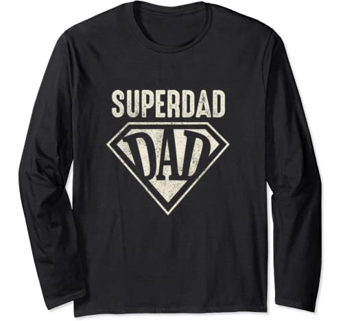 Super Dad  Father's Day Gift  Long Sleeve T Shirt
