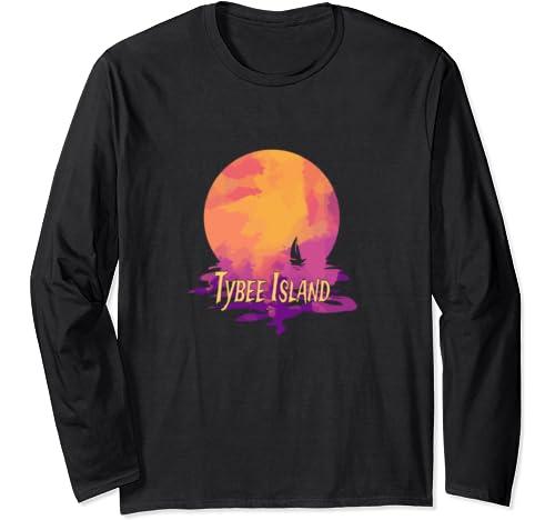 Tybee Island Vacation   Georgia Family Trip Souvenir Long Sleeve T Shirt