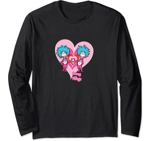 Dr. Seuss Lovey Things Long Sleeve T Shirt