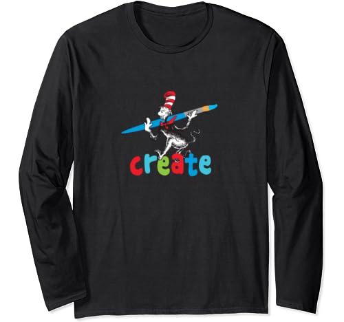 Dr. Seuss Create Long Sleeve T Shirt