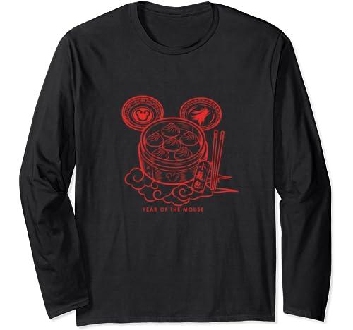 Disney Mickey Dumplings Year Of The Mouse Long Sleeve T Shirt