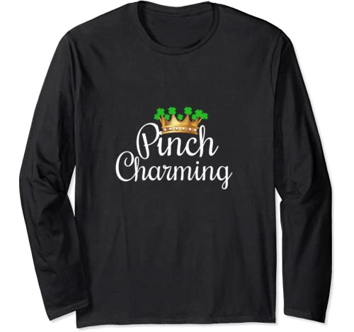 Punny St Pattys Day T Shirt St Paddys Day Shamrock Decor Men Long Sleeve T Shirt