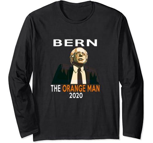 Bernie Sanders Wins Beats Trump 2020 Election Feel The Bern Long Sleeve T Shirt