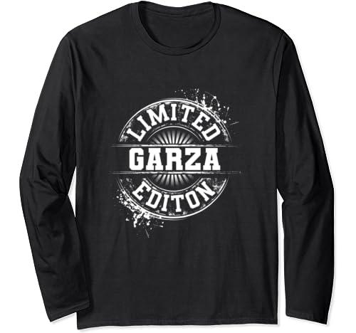 Garza Funny Surname Family Tree Birthday Reunion Gift Idea Long Sleeve T Shirt