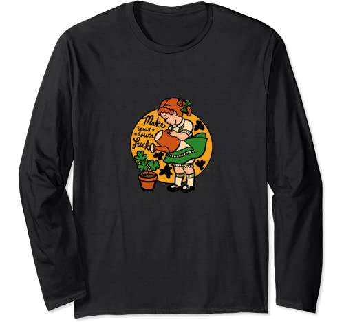 Make Your Own Luck Fun Lucky St. Patrick's Day Long Sleeve T Shirt