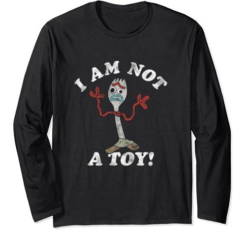 Disney Pixar Toy Story Forky I Am Not A Toy Long Sleeve T Shirt