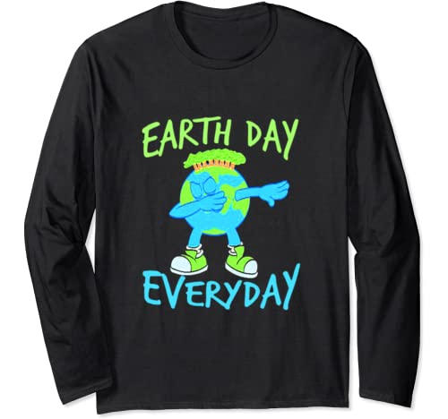 Earth Day Every Day 2020 Earth Day Men Women Kids Gift Long Sleeve T Shirt