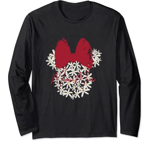 Disney Mickey And Friends Easter Minnie Mouse Floral Long Sleeve T Shirt