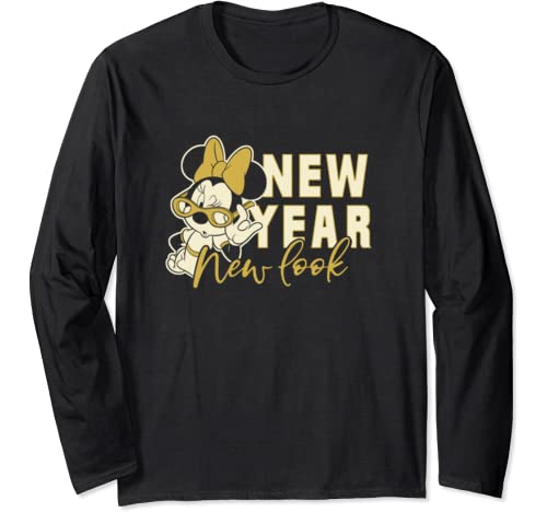Disney Mickey And Friends Minnie Mouse New Year New Look Long Sleeve T Shirt