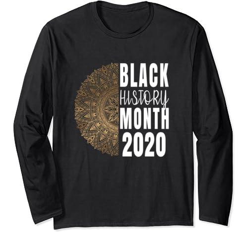 Black History Month Tshirt /Gift Long Sleeve T Shirt