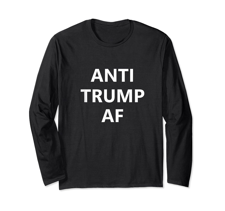 Fuck Donald Trump Fck Funk Anti Resist Protest Impeach 45 T Shirt Long Sleeve T-shirt
