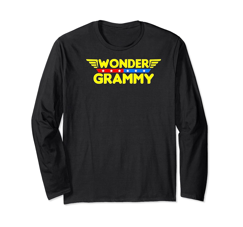 Wonder Grammy Mother S Day Gift Mom Grandma T Shirt Long Sleeve T-shirt