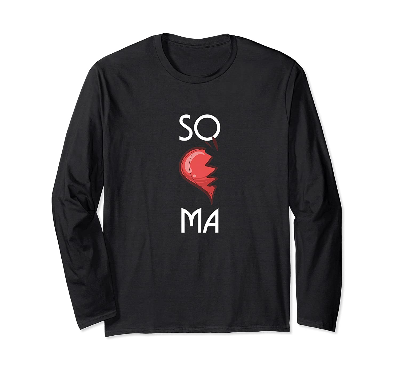 So Ma Cute Soulmates Valentine S Day 2020 Partners Premium T Shirt Long Sleeve T-shirt
