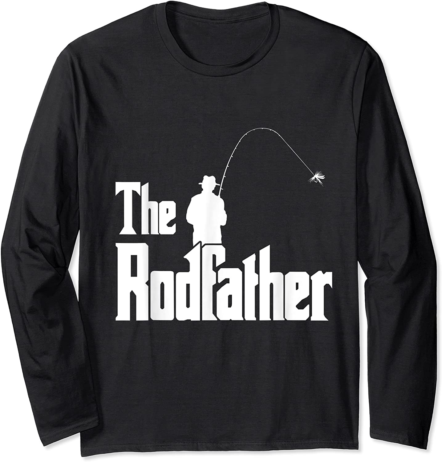 The Rodfather Is On The River This Christmas T-shirt Long Sleeve T-shirt
