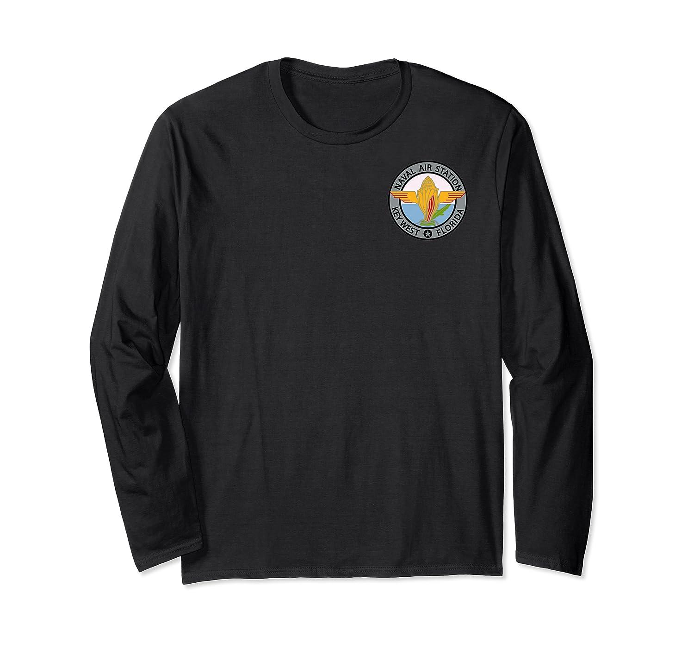 Naval Air Station Nas Key West Navy Military Veteran Patch Premium T-shirt Long Sleeve T-shirt