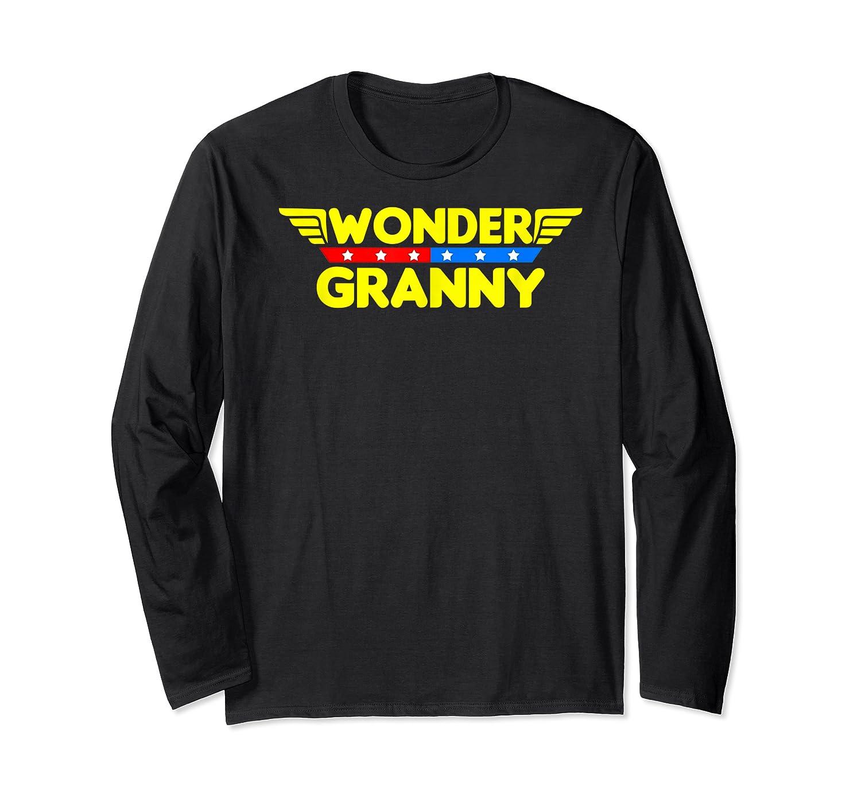 Wonder Granny Mother S Day Gift Mom Grandma T Shirt Long Sleeve T-shirt