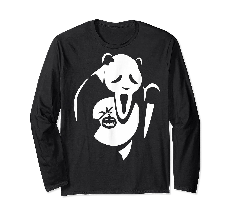 Panda Animal Halloween Diy Costume Funny Shirts Long Sleeve T-shirt
