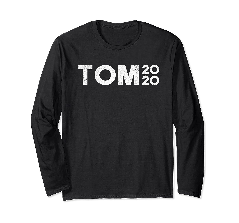 Tom Steyer 2020 For Usa President Democrat Impeach Trump T Shirt Long Sleeve T-shirt