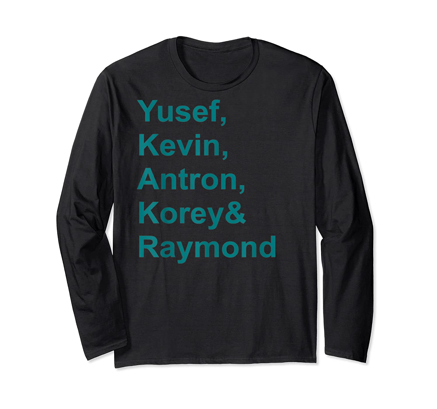 Central Park 5 T-shirt Central Park 5 Real Story Tshirt Long Sleeve T-shirt