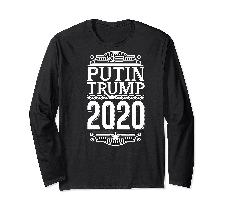 Resist Russian Putin Impeach President Putin Trump 2020 Premium T Shirt Long Sleeve T-shirt
