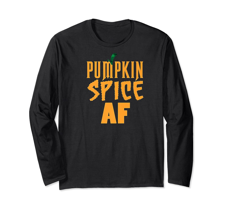 Pumpkin Spice Shirt Autumn Tshirt Fall T Shirts Halloween Premium T-shirt Long Sleeve T-shirt