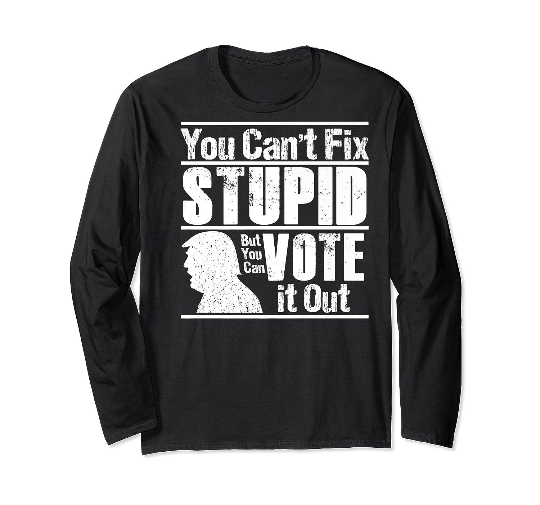 Sarcastic Impeach Resist President Vote Dems Anti Trump 2020 Premium T Shirt Long Sleeve T-shirt