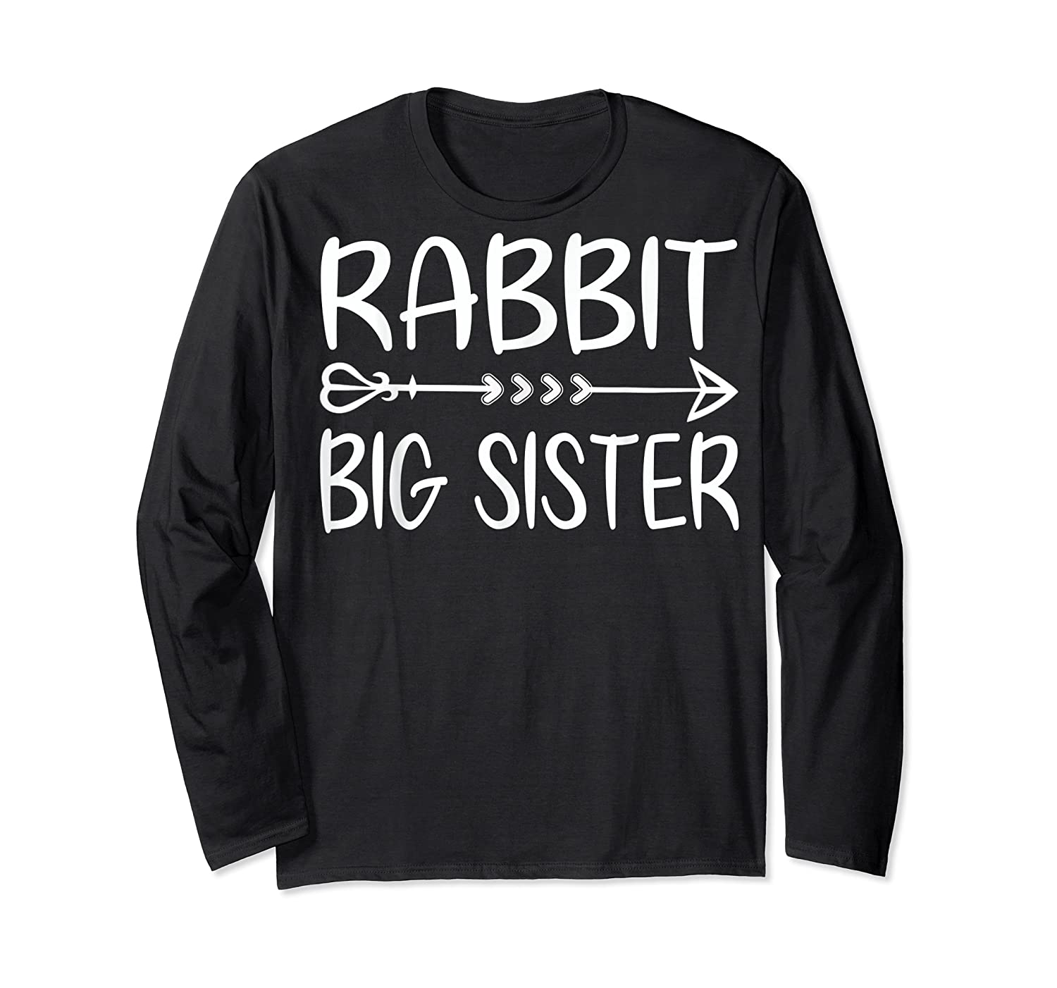 Cute Rabbit Big Sister Shirt I M Going To Be A Big Sister T Shirt Long Sleeve T-shirt