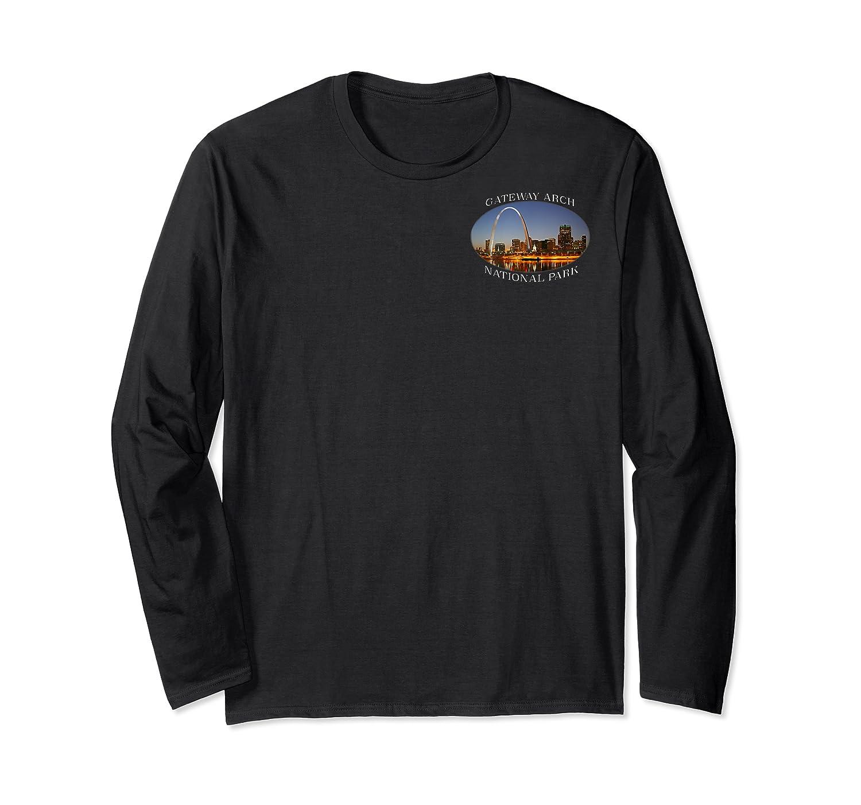 Gateway Arch National Park Image Shirts Long Sleeve T-shirt