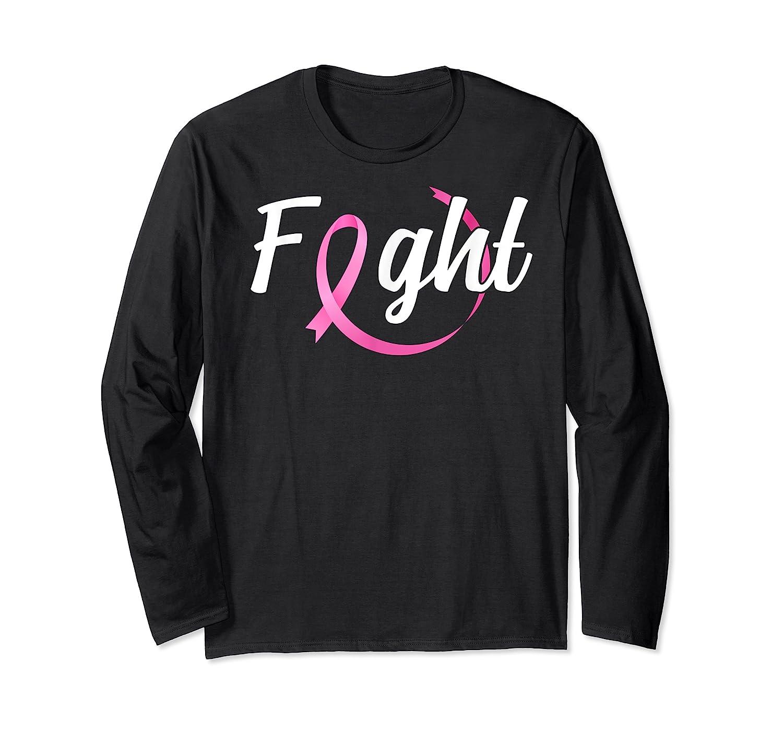 Fight Breast Cancer Awareness Month T Shirt Long Sleeve T-shirt