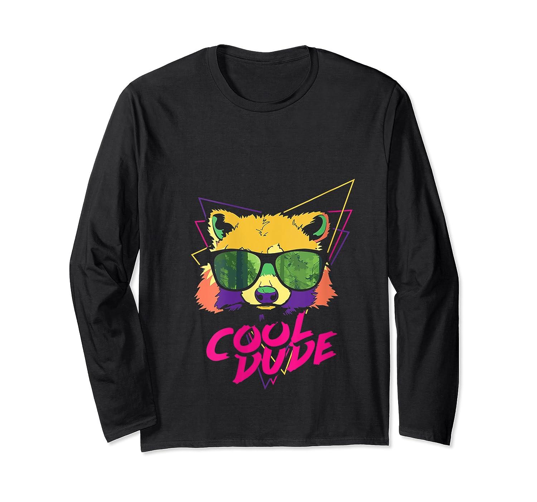 Cool Bear Fun Party Costume Cute Easy Animal Halloween Gift Shirts Long Sleeve T-shirt