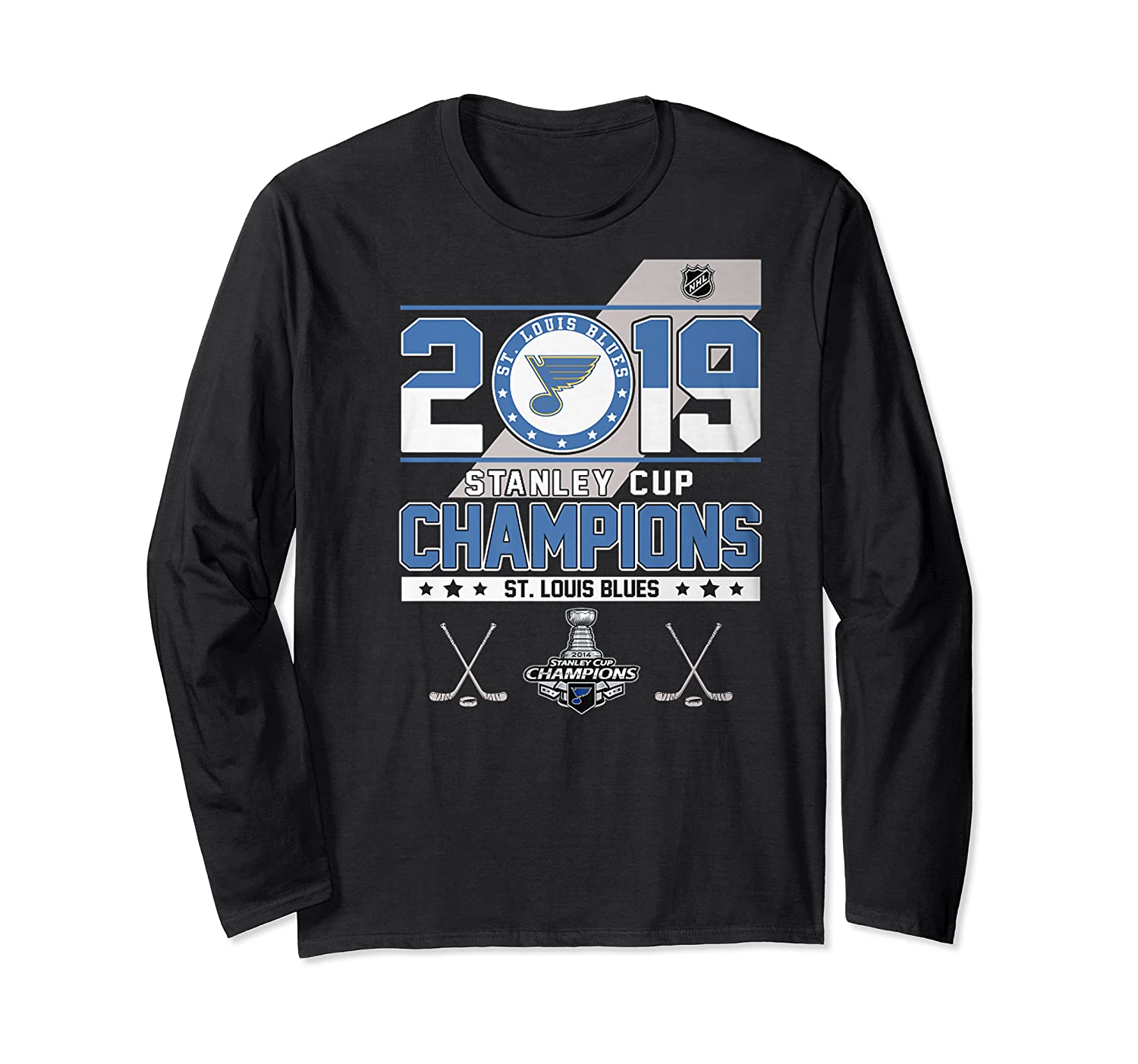 Stanley St Louis Cup Blues Champions 2019 Best For Fans Shirts Long Sleeve T-shirt