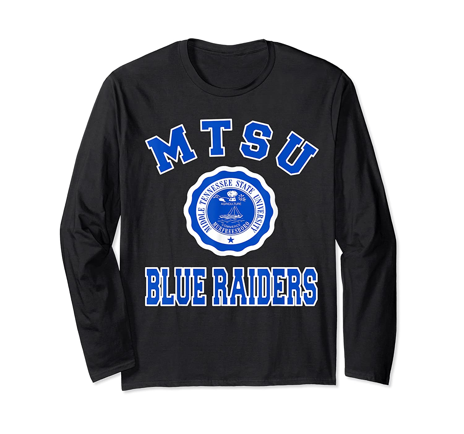 Middle Tennessee State 1911 University Apparel T Shirt Long Sleeve T-shirt