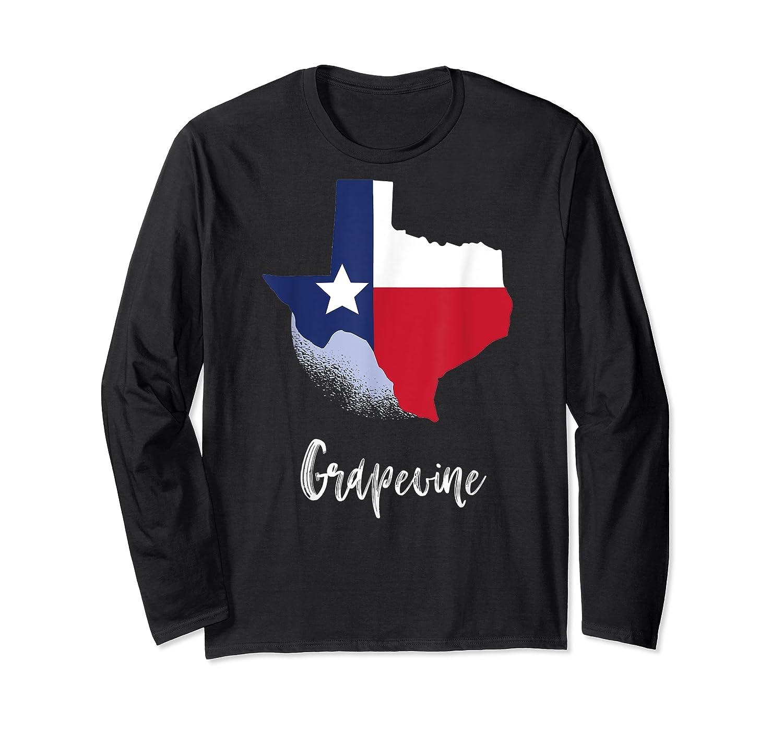 Grapevine Texas T Shirt Lone Star State Texan Gift Long Sleeve T-shirt