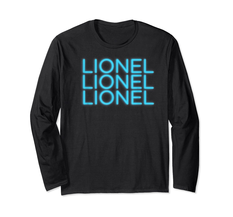 Lionel Richie - Lionel Neon T-shirt Long Sleeve T-shirt