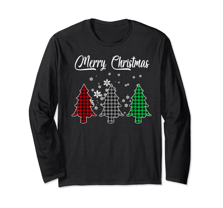 Christmas Santa Funny Tree Xmas Christmas Gift For Shirts Long Sleeve T-shirt