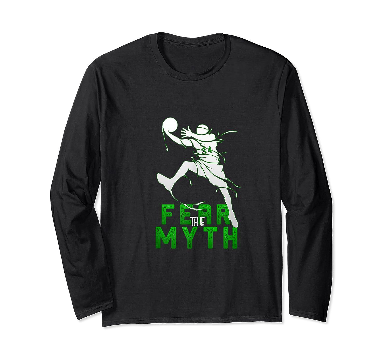 Gift For Milwaukee Basketball Bucks Fans 34 R The Myth Shirts Long Sleeve T-shirt