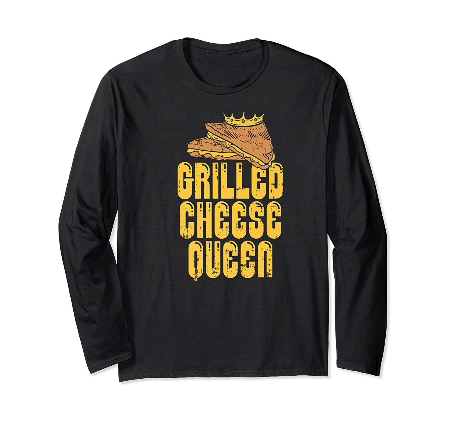 Gift For The Queen Grilled Cheese Maker Of The House Premium T Shirt Long Sleeve T-shirt