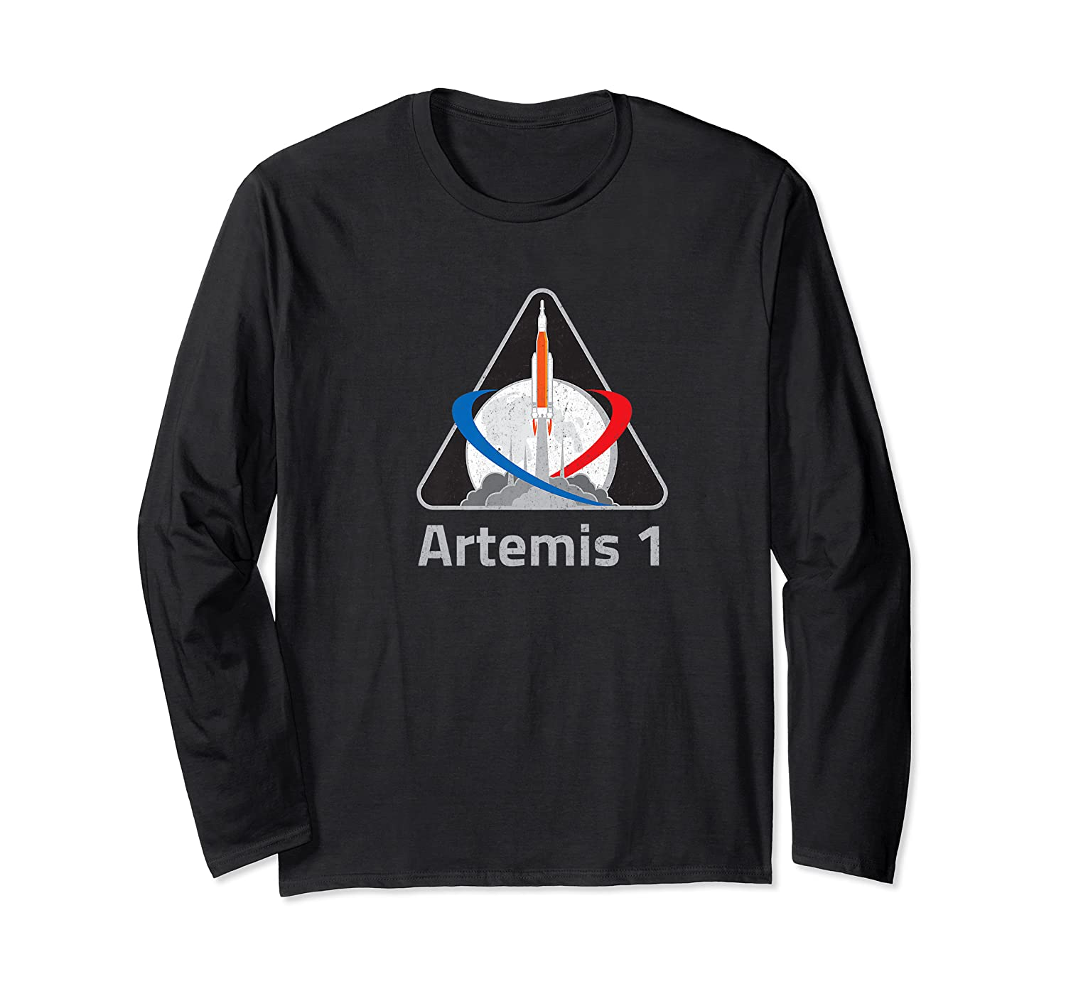Artemis 1 Patch We Are Going Moon To Mars 2024 Vintage Shirts Long Sleeve T-shirt