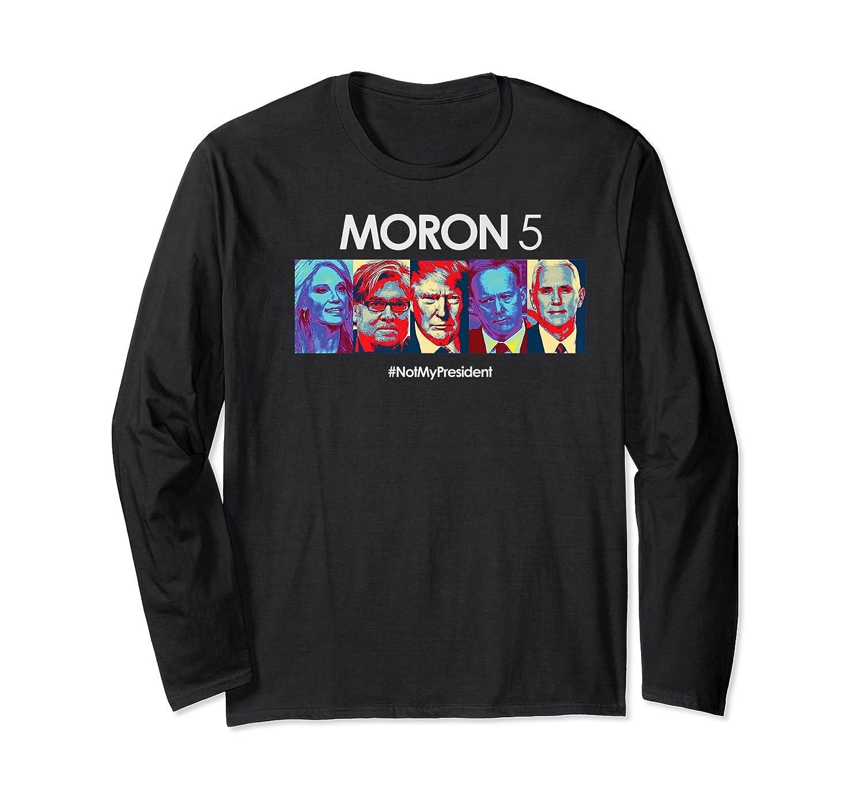 Funny Anti Trump Shirt Hate Donald Tshirt Impeach Long Sleeve T-shirt