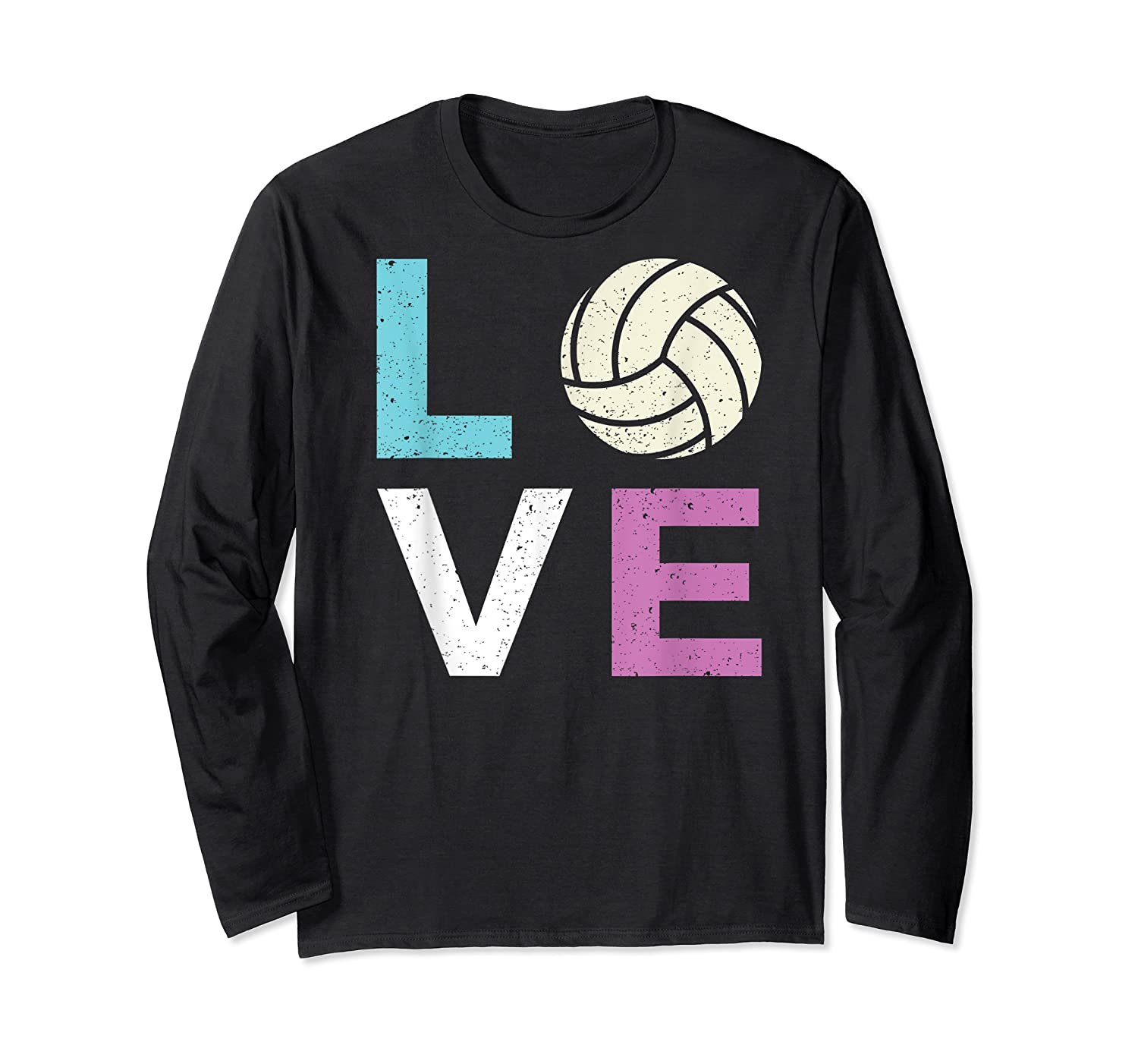 And A Volleyball Shirts Long Sleeve T-shirt