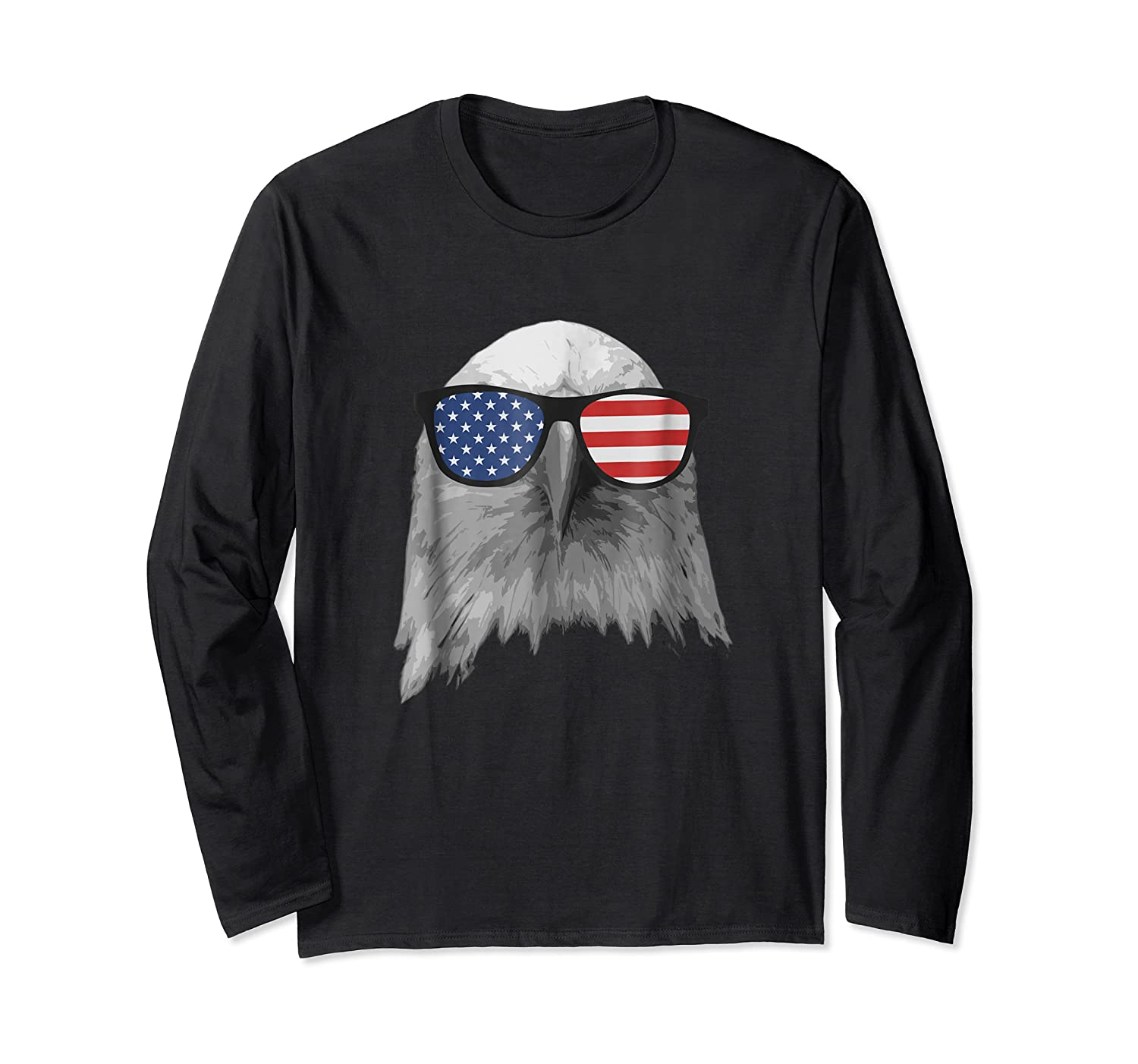 Election Day 2018 Patriotic Eagle T Shirt Long Sleeve T-shirt