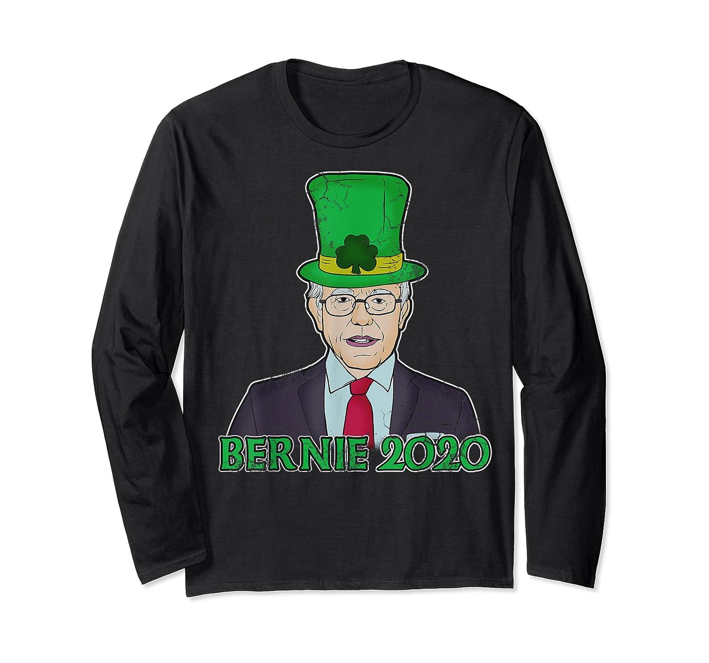 Bernie Sanders 2020 T Shirt St Patricks Day Irish Leprechaun Long Sleeve T-shirt